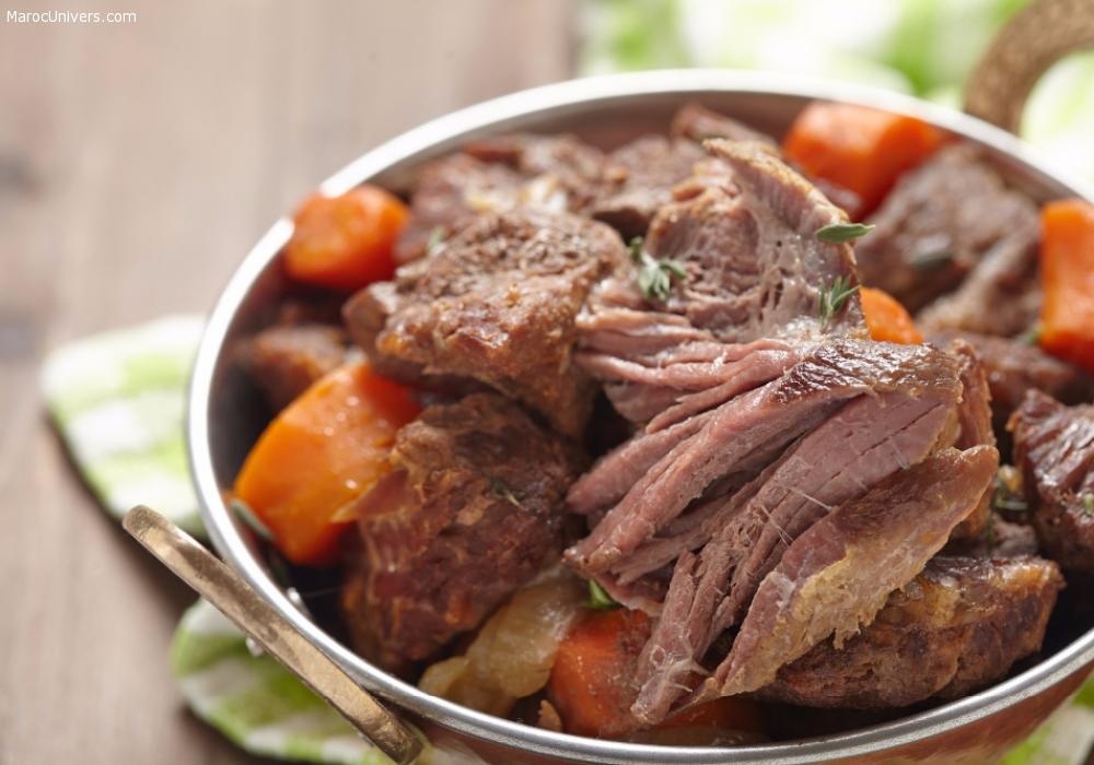 Collier d'agneau aux carottes