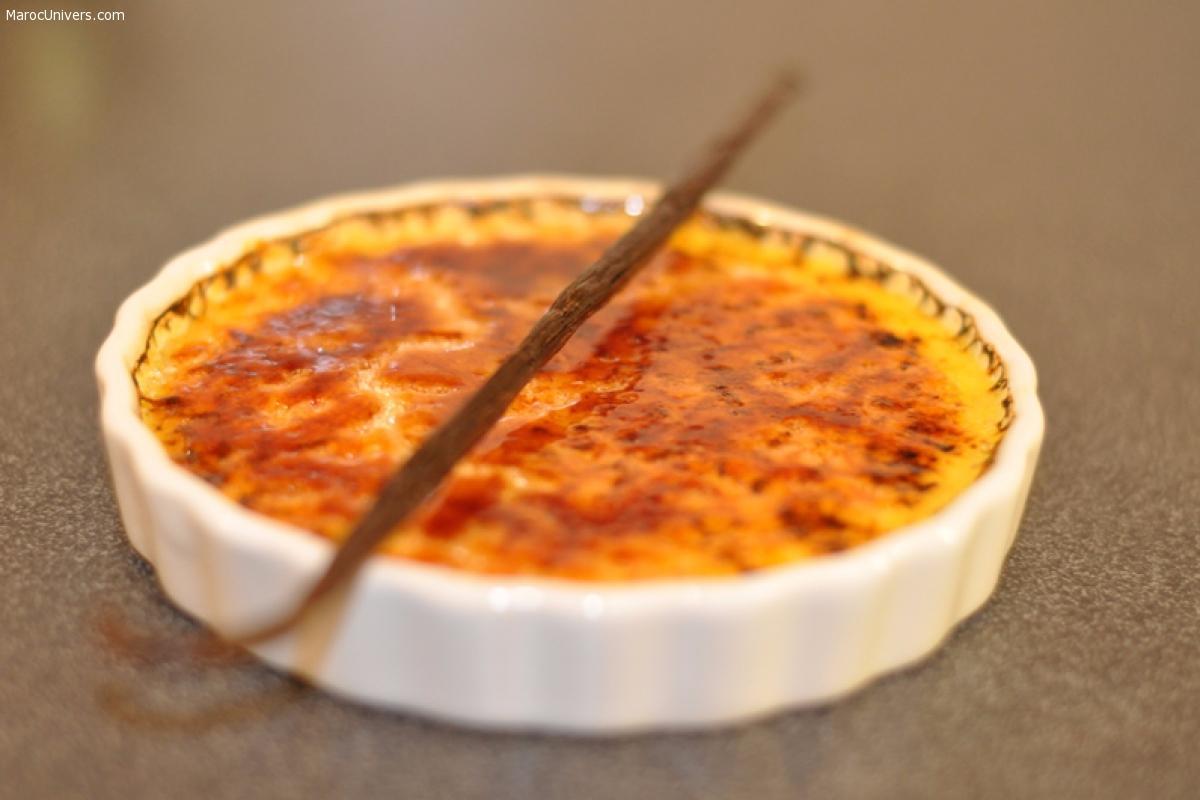 Crème Brûlée - recette simple à réaliser