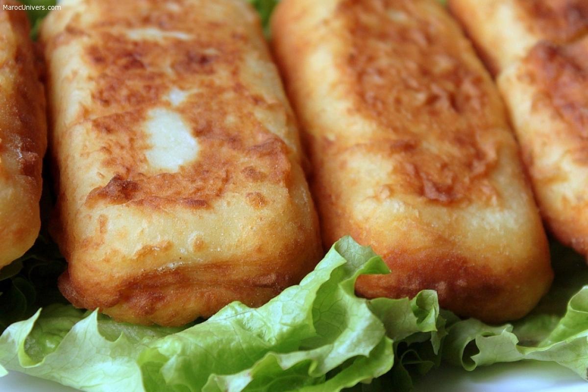 Croquettes aux pommes de terre et viande hachée