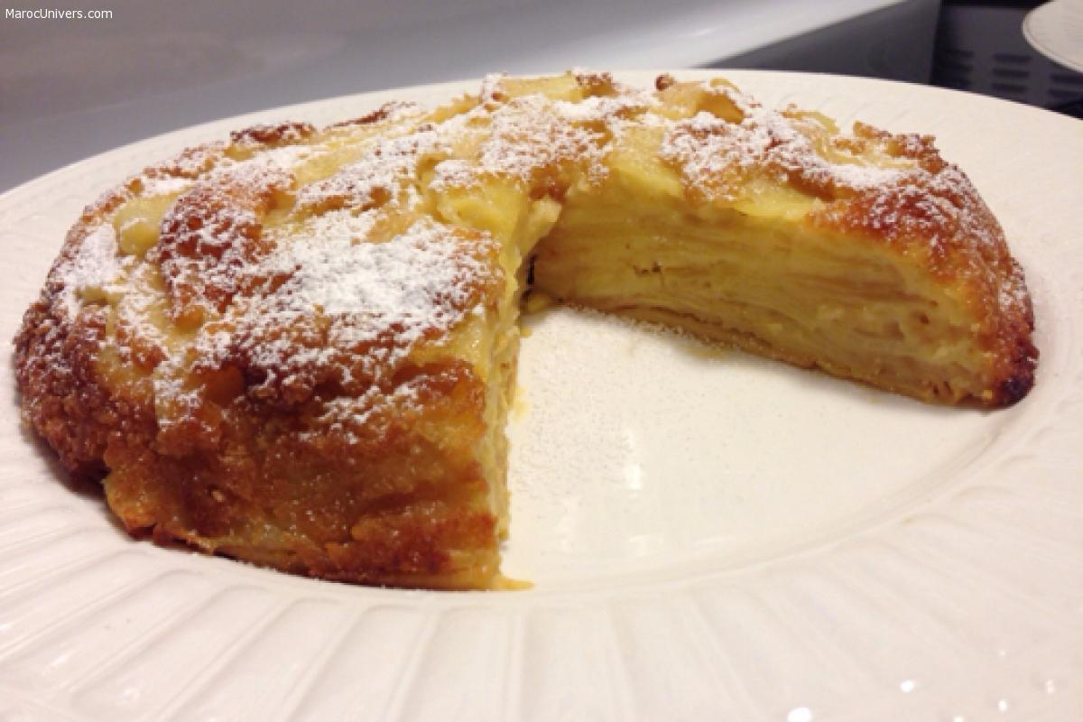 Gâteau aux pommes - facile et rapide