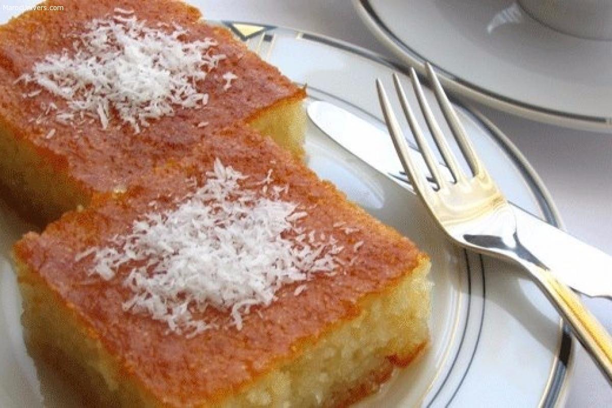 Gâteau de semoule turc au sirop - Revani
