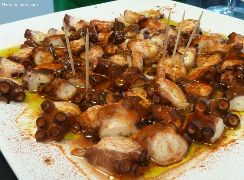 Recette Poulpe à la galicienne (Pulpo a la Gallega)