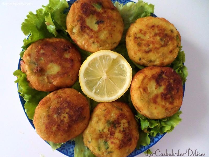 Recette Maakouda au poireau et fromage