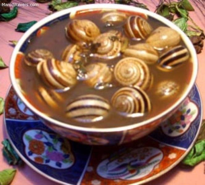 L'escargot Marocain ou Recette Babouche