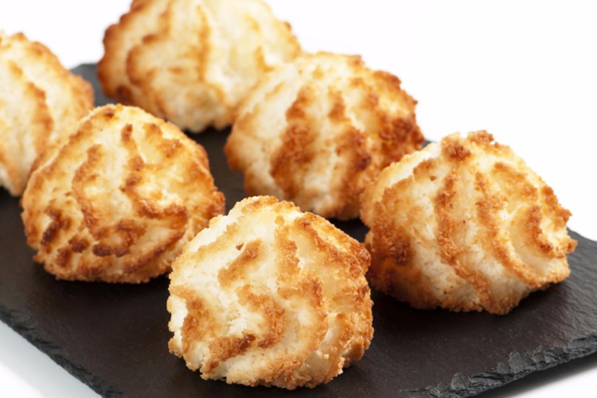 Macarons à la noix de coco Marocain / Coconut Macaroons