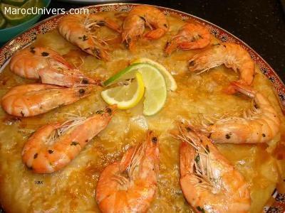 Pastilla marocaine au poisson et aux fruits de mer
