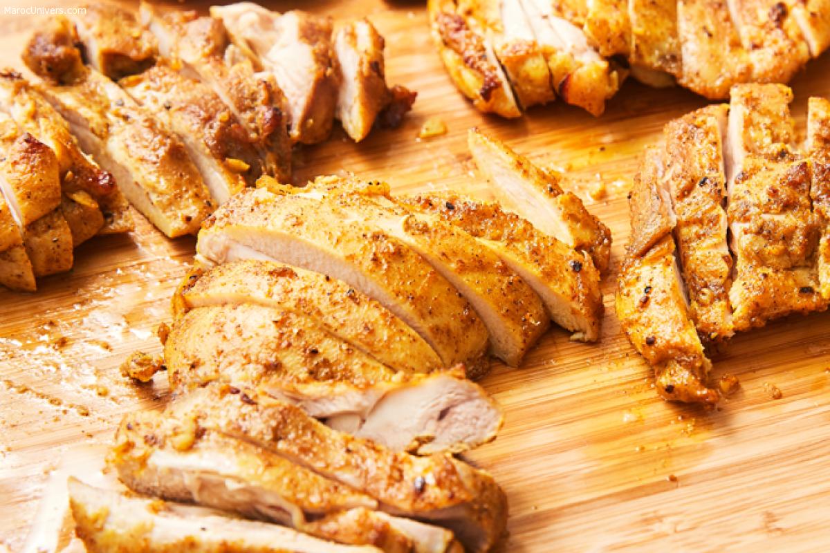 Recette chawarma au poulet