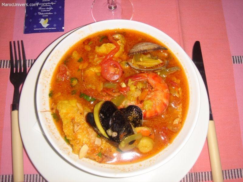Recette de zarzuela, une bouillabaisse à l'espagnole