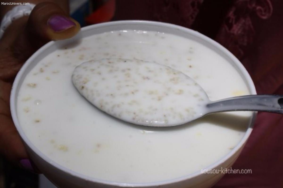 Saykouk ou couscous au elben