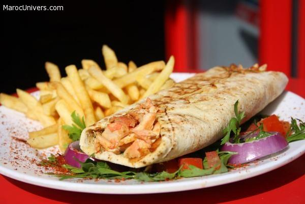 Shawarma au poulet libanais
