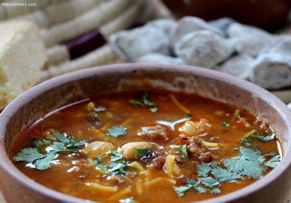 Soupe marocaine: Chorba Fassia