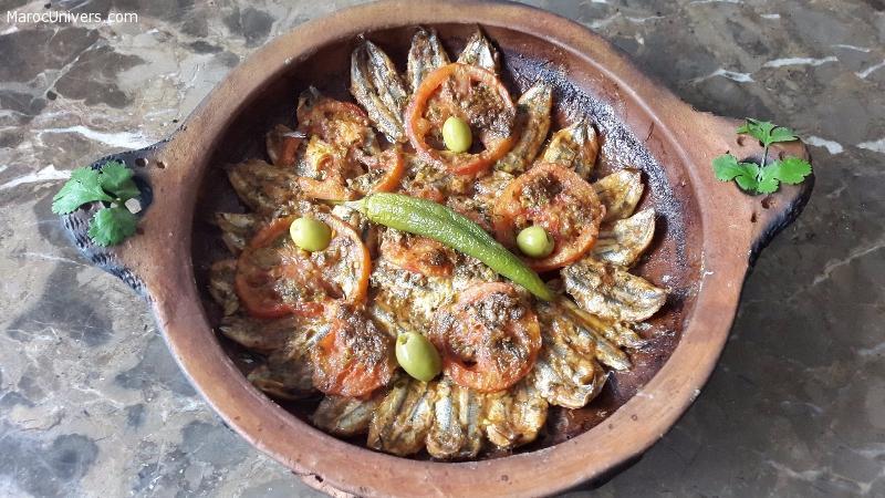Tajine d'anchois à la marocaine