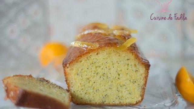 cake citron bergamote pavot