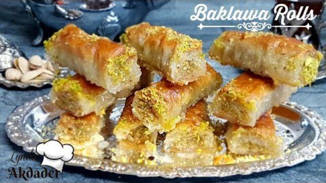 Baklawa rolls - un dessert bien apprécié en tout temps