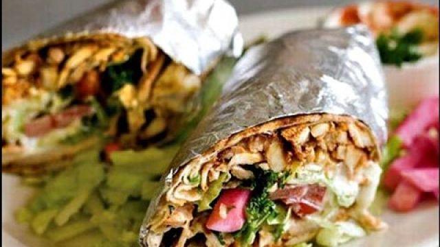 Shawarma - Pita poulet -Dorum- شاورما الدجاج