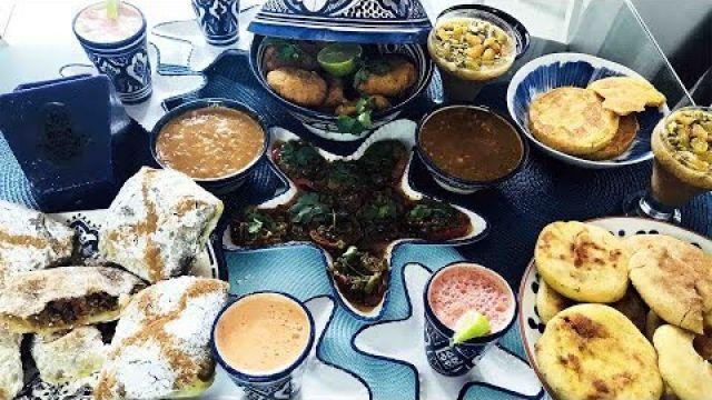 Menu Marocain du ramadan healthy collaboration avec la cuisine de Fadila