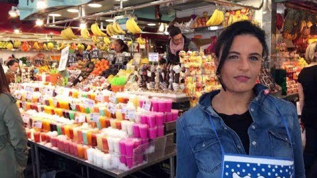 Recettes Tapas espagnoles Catalane visite marché Boquería à Barcelone