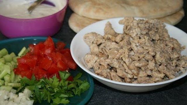 Chawarma de poulet facile