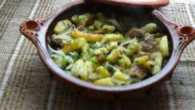 Sauté d'agneau aux pommes de terre, un repas facile et rapide