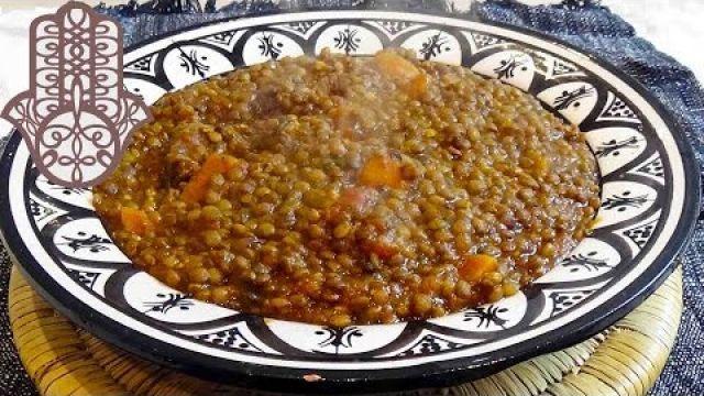 Tajine de lentilles aux boeuf et carottes