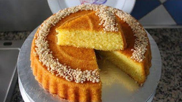 أسههههل كيكة السميدة تحضر في دقائق /حرشة في الفرن/Gâteau de semoule/Semolina cake