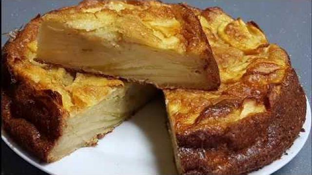 Gâteau aux pommes invisible facile et très fondant