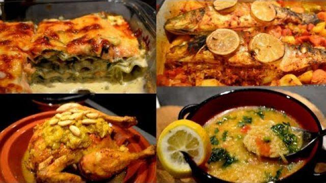 4 Recettes de la cuisine Marocaine et d'ailleurs