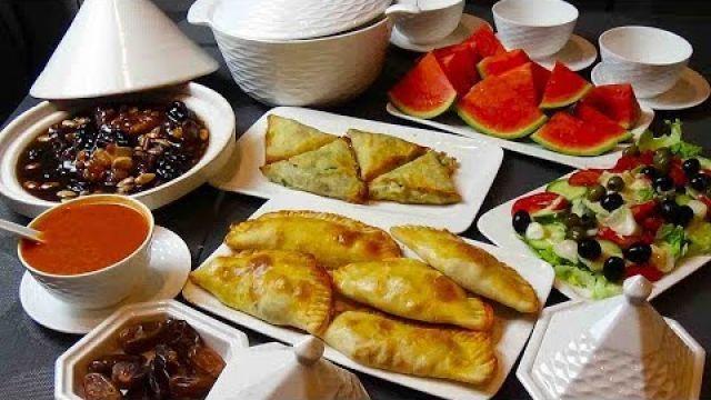 Menu ftour du ramadan à l'algéroise - YouTube