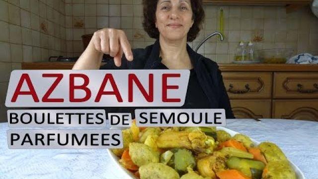 Boulettes de semoule parfumées (Azbane) | Maman Cuisine