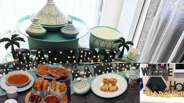 Ftour du ramadan pour femme débordée Chorba, pain Kebab, Brick et tajine