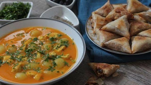 Idées rapides pour ftour : Soupe et briouates au fromage