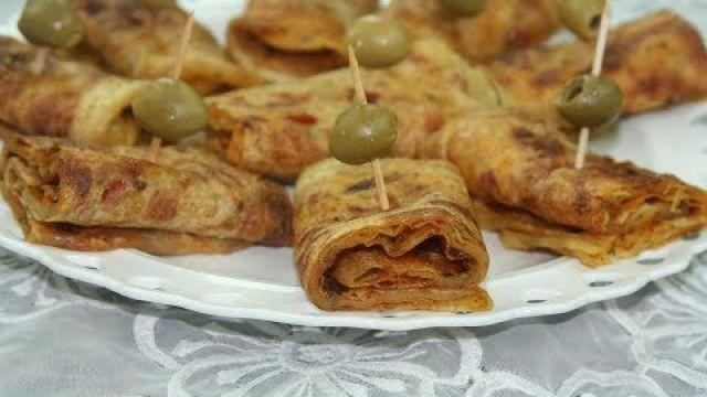Rghaif Farci aux Légumes (Ramadan )
