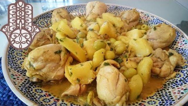 Tajine de poulet aux pommes de terre