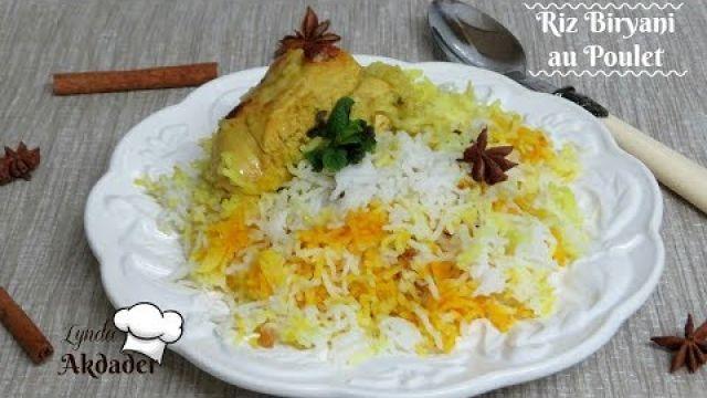 riz biryani au poulet par Lynda akdader